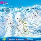 Livigno ski map
