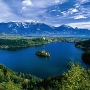 Slovinsko jazero Bled