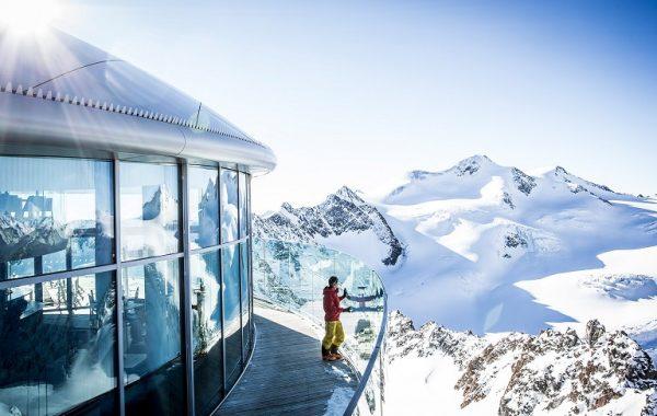 lyžovačka na Pitztali - skiing pitztal