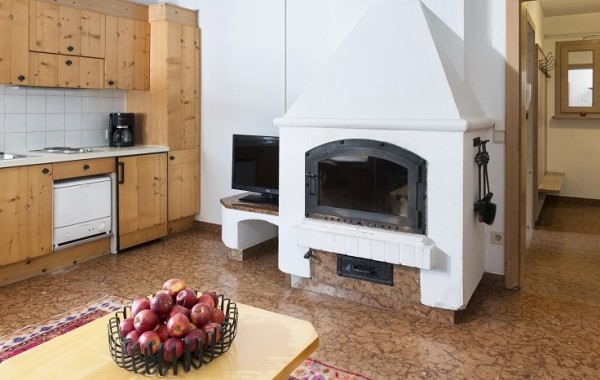 45+55 m2 Kamin+Küche