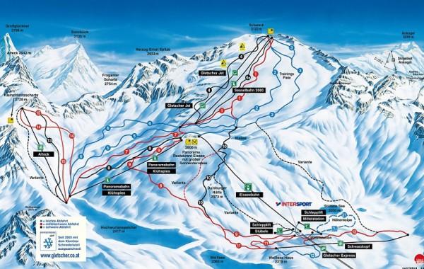 Molltalsky ľadovec, Rakúsko - Lyžovačka v Alpách