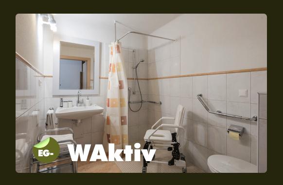 Dusche WC - behindertengerecht