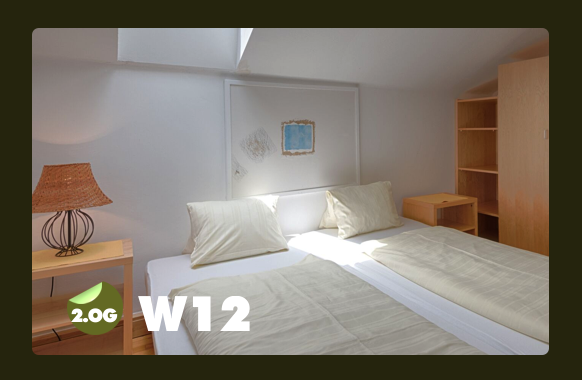 Schlaftzimmer für 2 Personen W12