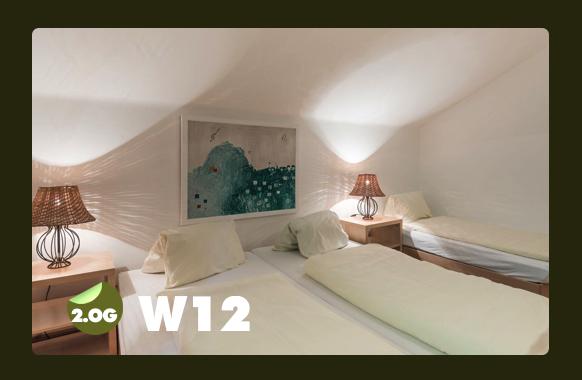 Schlafzimmer für 2 Personen + Jugendbett