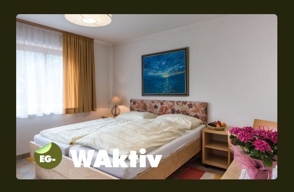 Schlafzimmer für 2 Personen - behindertengerecht