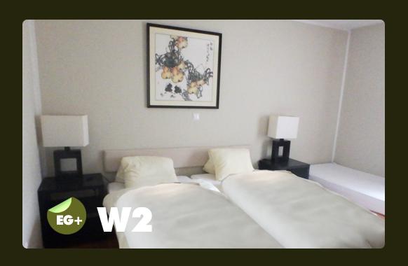 Schlafzimmer für 3 Personen W2