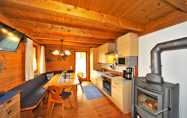 Eko drevená chata Flattach