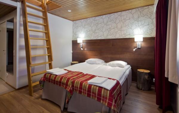 Sirkantähti hotel, Levi, Fínsko - rodinná izba