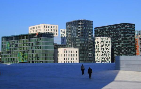 NO - nová výstavba v Oslo - Dekan