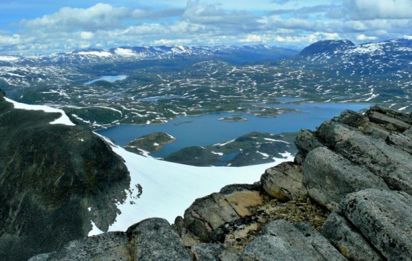 Norsko, v NP Jotunehimen, Molan Venhoda