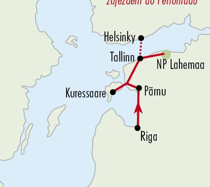 prírodou pobaltia a helsinki