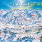 Schladming - Dachstein ski map