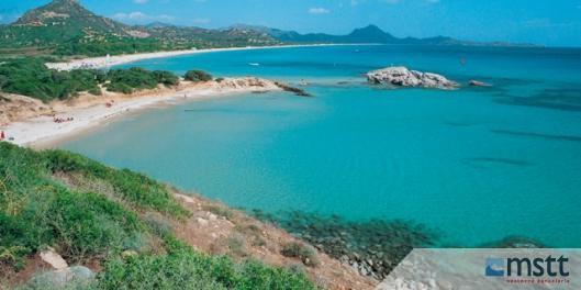 Sardínia, Costa rei pláž