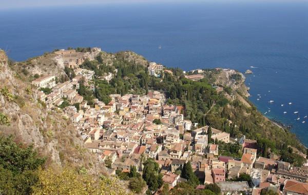 Sicília, Taliansko - Taormina