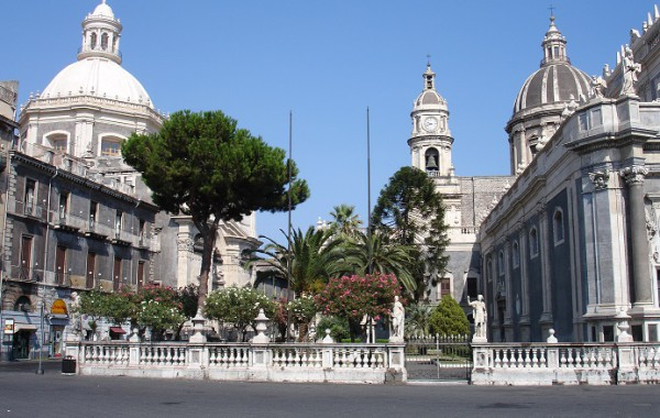 Sicília, Taliansko - Catania