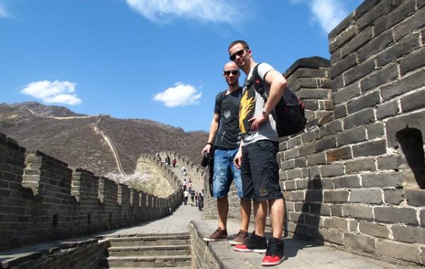 Študenti na Čínskom múre,  Jazykové kurzy Čínština