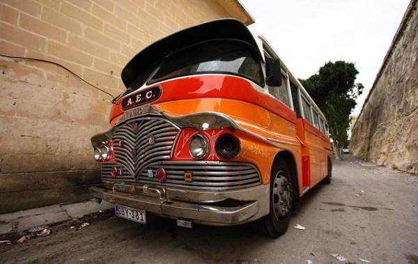 Maltský autobus