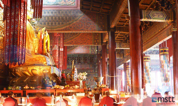 Budhistický chrám, Peking,  Jazykové kurzy Čínština