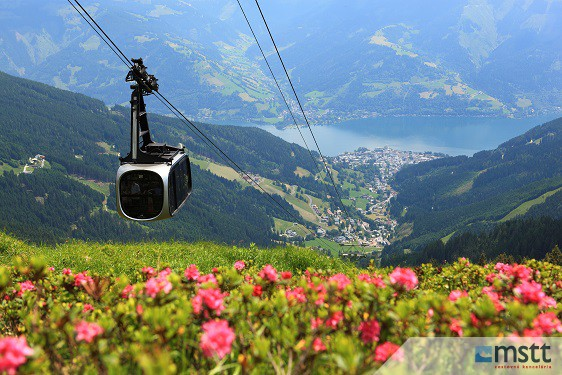 Zell am See, lanovka na Schmittenhohe