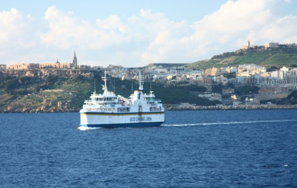 Trajekt na Gozo