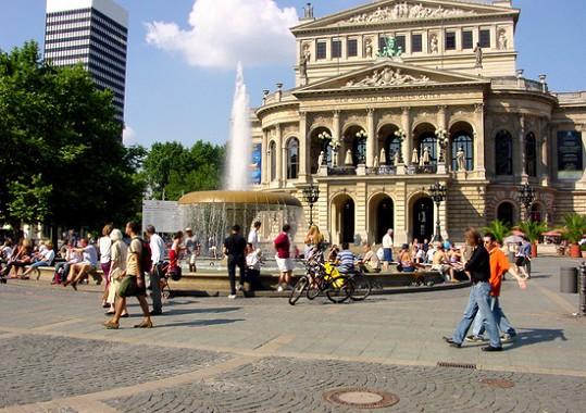 Jazykový kurz Nemčiny, Frankfurt, Nemecko
