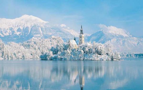 Slovinsko lyžovačka