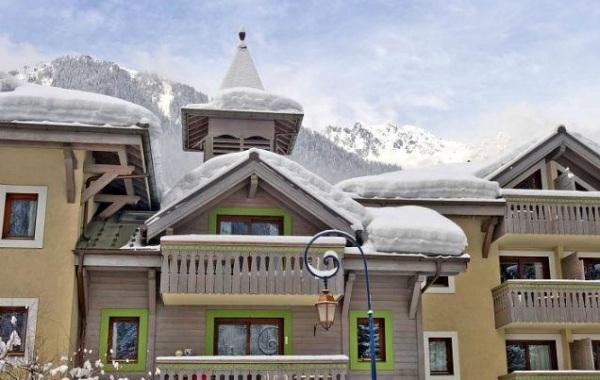 Ginabelle rezidencia Chamonix, Francúzsko