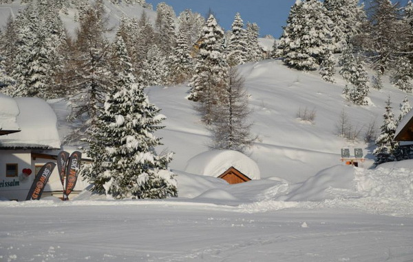 Turracher höhe, Lyžovačka v Alpách s CK m.s.t.t.