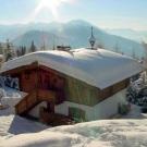 Zettersfeld Chata, Zettersfeld Hochstein lyžiarske stredisko, zimna foto zhora z vonka