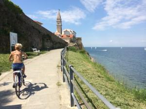 Cyklotrasy v okolí Piranu