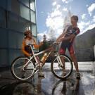 Horské bicyklovanie v Savognin
