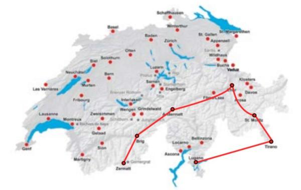 Trasa Berninského & Ľadovcového expresu