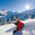 Snowboarder+am+Wiedersbergerhorn+Alpbach