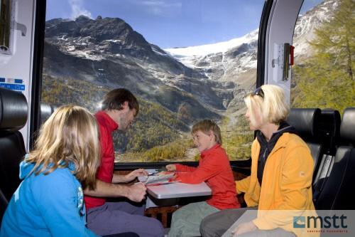 RHAETISCHE BAHN: Bernina Express- Berninalinie
