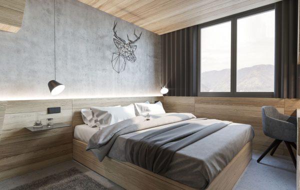 Dvojlôžková izba, Hotel Rogla ***