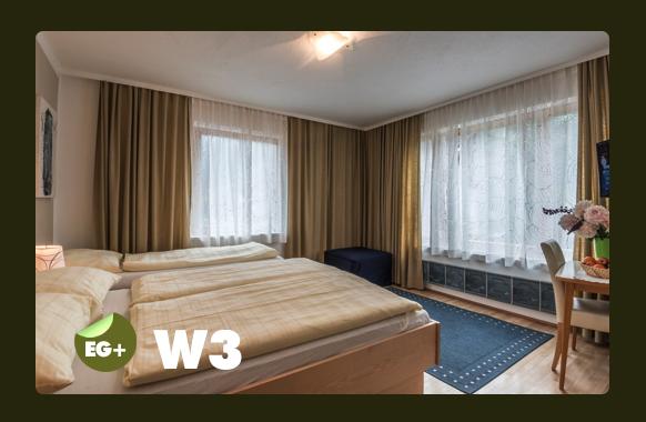 Schlafzimmer W3 für 3 +1 Person