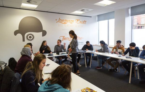 Learn English in England with EC Manchester! Our school is a boutique space in the heart of this revolutionary, entrepreneurial and innovative city
