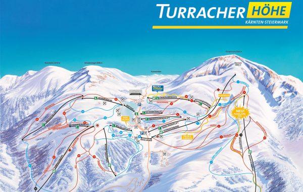 Turracher Hohe Pistenplan